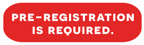 Pre-registration is required.